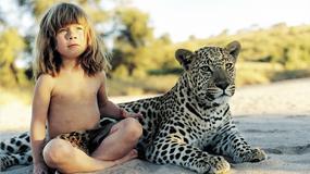 Prawdziwy Mowgli - historia dziewczynki, która bawiła się z lwami i słoniami