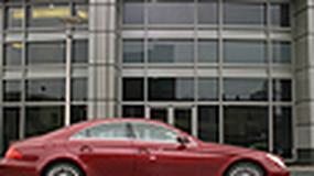 Mercedes CLS 350 - Jedna płynna kreska