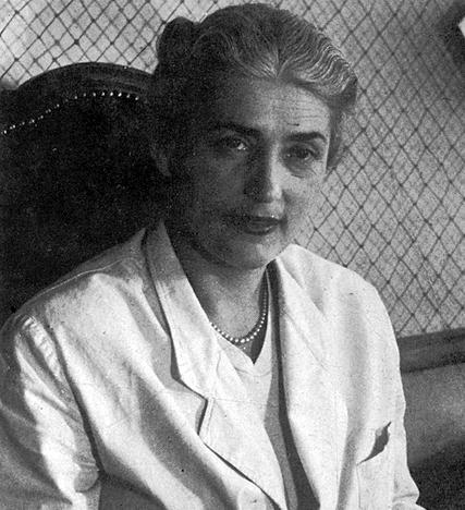 Milica Babić bila je prva srpska školovana kostimografkinja