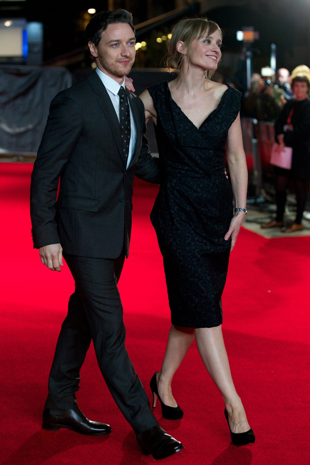 James McAvoy i Anne-Marie Duff