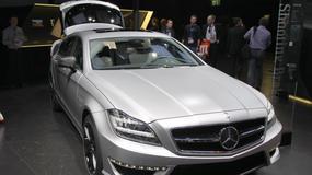 Mercedes CLS 63 AMG Shooting Brake (Paryż 2012)
