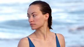 Olivia Wilde w prześwitującym stroju kąpielowym