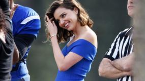 Miranda Kerr na planie reklamy. Urocza!