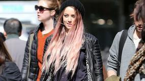 """Amber Heard na planie """"When I Live My Life Over Again"""""""