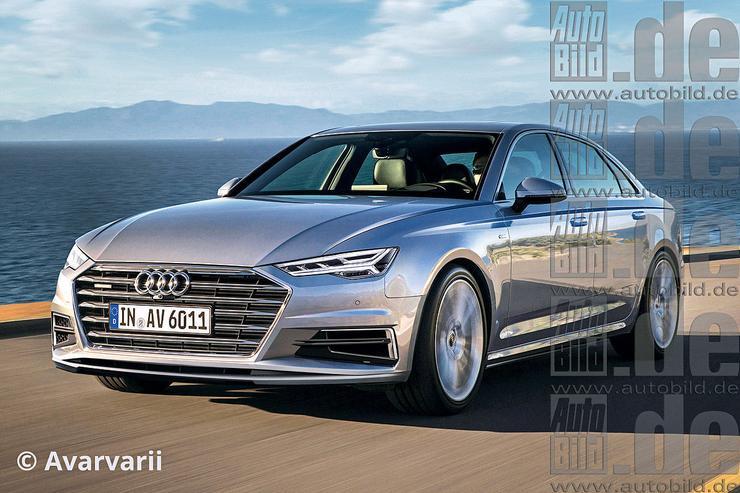 Nowe Audi A6 A7 I A8 Audi Coraz Bardziej Sexy Auto Świat