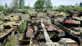Cmentarzysko sowieckich czołgów w Charkowie