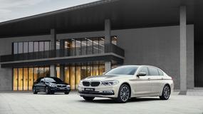 Specjalnie dla Chin: wydłużone BMW 5 Li