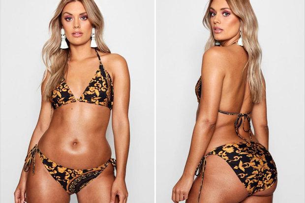 Da li je ova žena zaista daleko od plus sajz modela?
