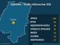 Opolskie - liczba milionerów 356, wzrost o 19 proc.