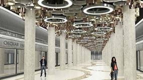 Nowe stacje metra w Moskwie połączeniem high-tech i art-deco - ładniejsze niż socrealistyczne?