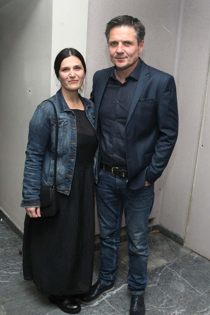 Nebojša Dugalić sa suprugom Draganom