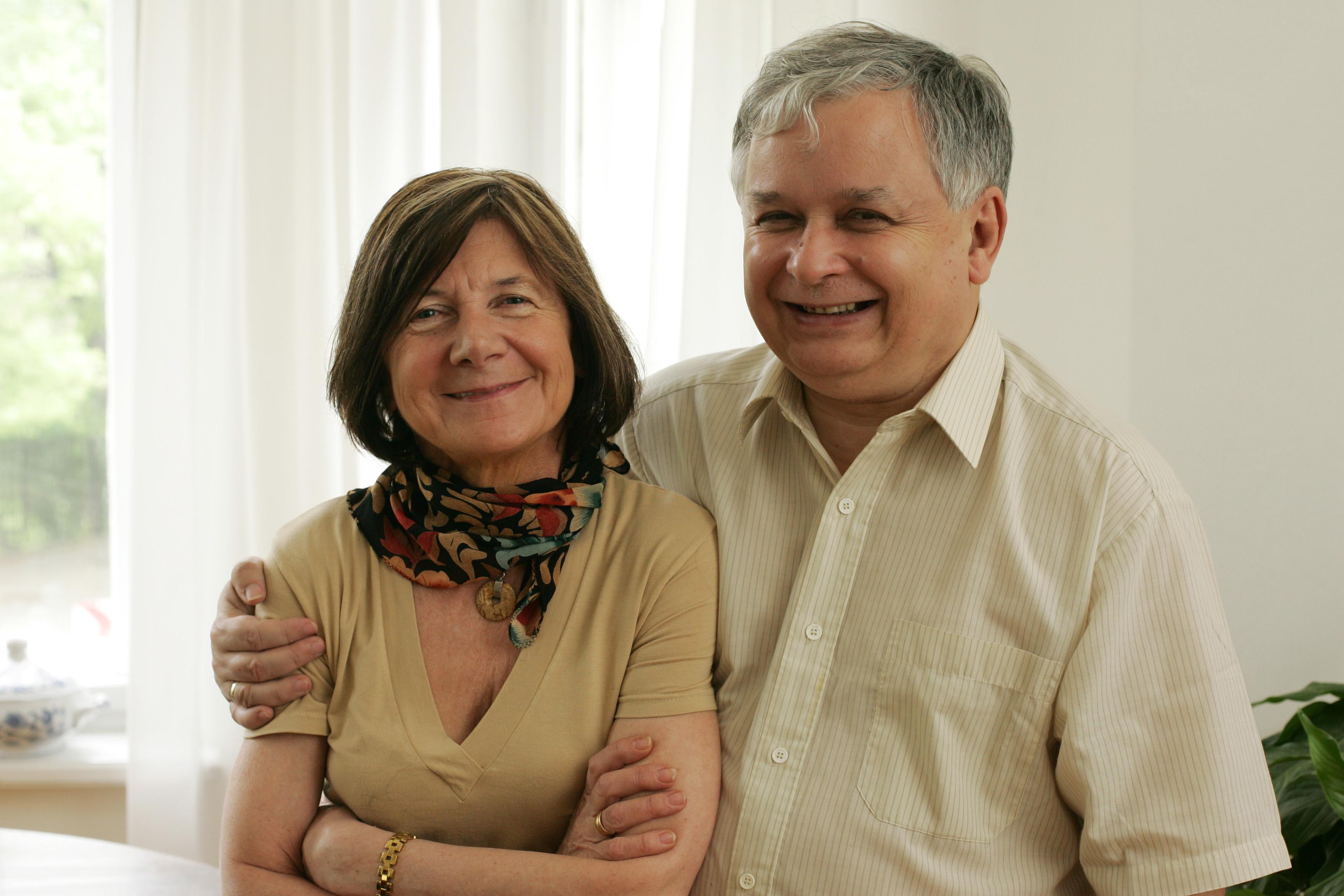 Lech Kaczyński rzucił dziewczynę dla starszej Marii