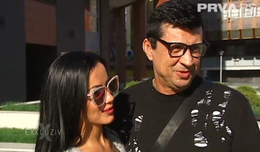 Zoran Pejić Peja i njegova verenica Dragana Kačavenda