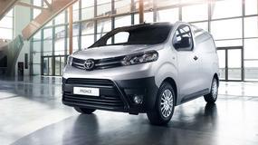Toyota ProAce - model o wielu zastosowaniach