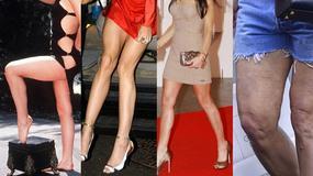 Nogi Demi Moore - kiedyś zachwycały, dziś nie wyglądają zbyt dobrze...