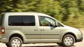 Volkswagen Caddy 4MOTION - Dostawcze 4x4