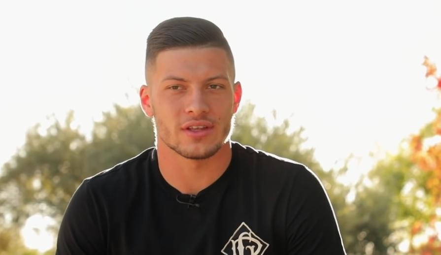 Emotivnom porukom Luka Jović starijem sinu čestitao rođendan!