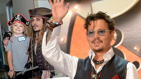Johnny Depp odwiedził dzieci w szpitalu. Sprawił im nietypową niespodziankę