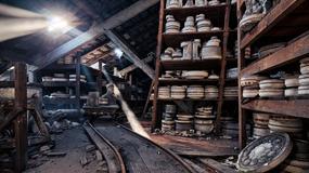 Opuszczona fabryka ceramiki w Sarreguemines