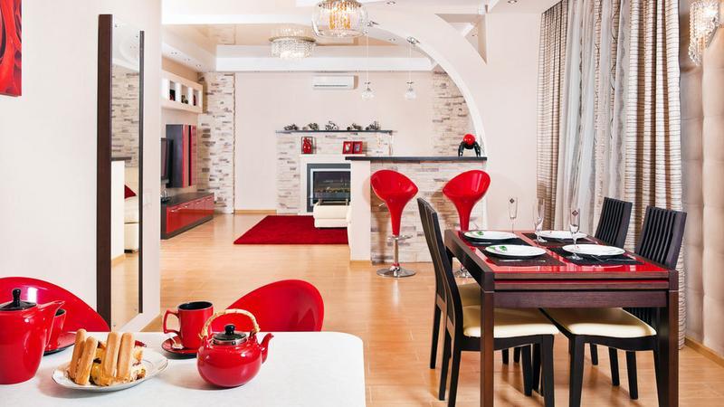 Jak efektownie oddzielić kuchnię od salonu - rodzaje przepierzeń - Dom