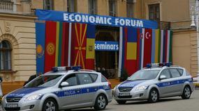 Tuż przed rozpoczęciem Forum Ekonomicznego