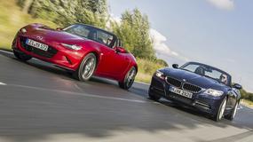 Mazda MX-5 kontra BMW Z4 - równanie w górę