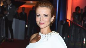 Katarzyna Zielińska w ciąży pierwszy raz na imprezie. Kreacją podkreśliła spore krągłości