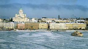 Finlandia - Helsinki zimową porą