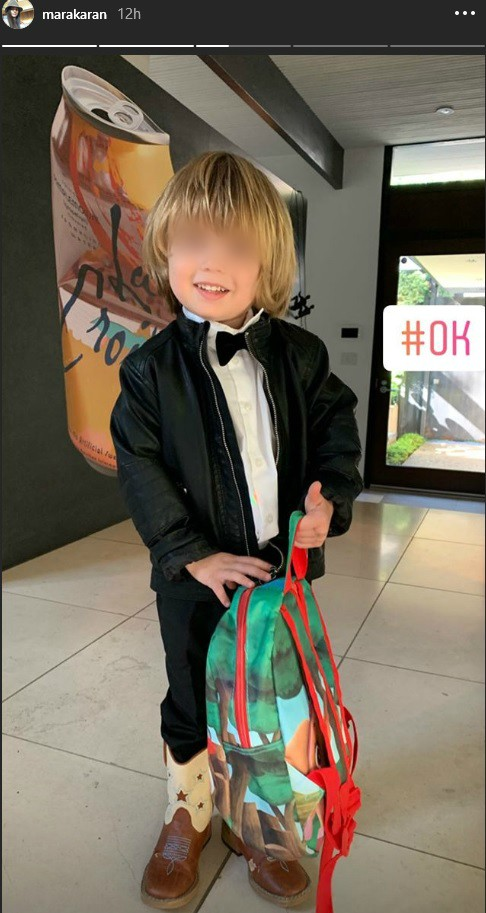 Sin Marije Karan je mali trendseter