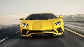 Odświeżone Lamborghini V12 zyskało cztery koła skrętne