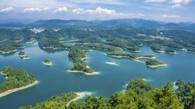 Qiandao - Jezioro Tysiąca Wysp w Chinach kryje na swoim dnie starożytne miasta