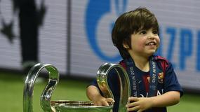 Piłkarze Barcy świętowali z dziećmi triumf w Lidze Mistrzów