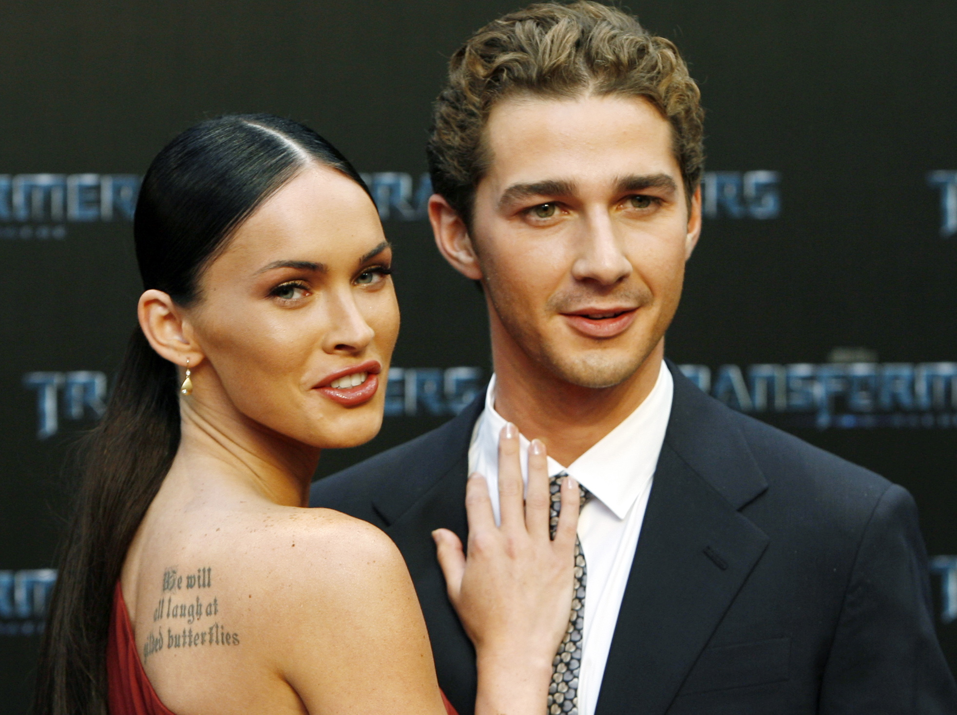 3. Shia LaBeouf i Megan Fox (