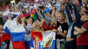 FOTO EURO Srpska zastava, Lev u rukavicama i poljubac za petla