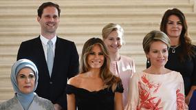 Pierwsze damy, a wśród nich rodzynek. To spotkanie przejdzie do historii!