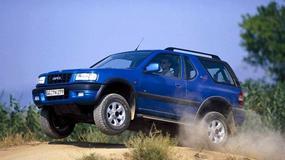 Opel Frontera na zdjęciach