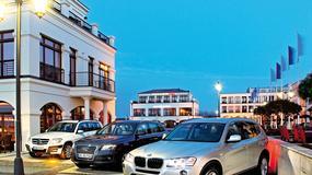 Mercedes GLK kontra Audi Q5 i BMW X3: SUV z automatem to czas relaksu