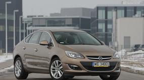 Opel Astra sedan 1,7 CDTI: test rodzinnego sedana