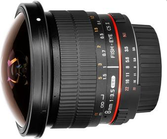 Samyang 8mm f/3.5 AS IF MC Fish-eye CS II Pentax