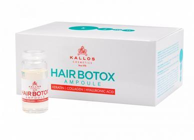 Kallos Hair Botox, ampułki wzmacniające 6x10ml
