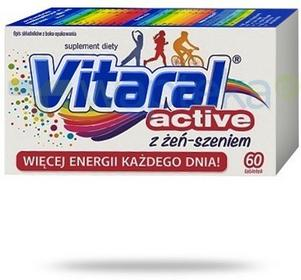 Jelfa Vitaral ACTIVE 60 szt.
