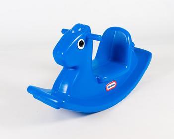MGA Little Tikes Koń na biegunach niebieski