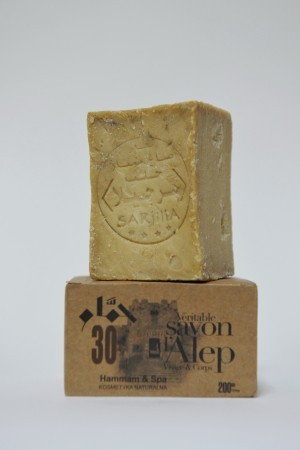 ALEPPO Hammam&SPA - Mydło w kostce oliwkowo laurowe 30%, 200g + GRATIS