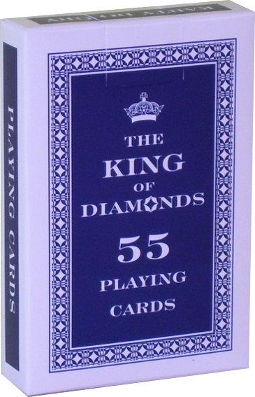 Trefl Karty King 55 listków 08709