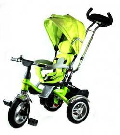TRIKE Rowerek Trójkołowy MAX zielony