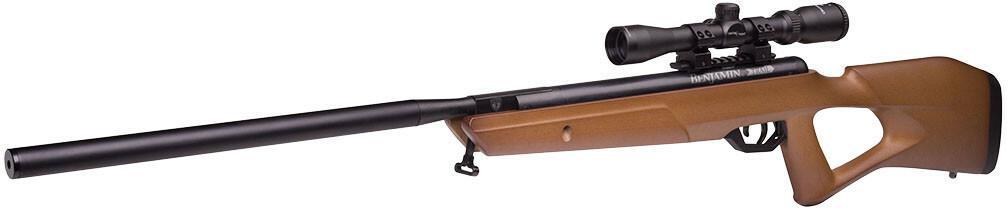Crosman karabinek -Benjamin Trail NP2 4,5 mm z lunetą 3-9x40AO - drewniana osada