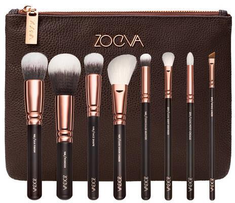 Zoeva Rose Golden Luxury Set Vol.1 - Zestaw pędzli do twarzy i oczu