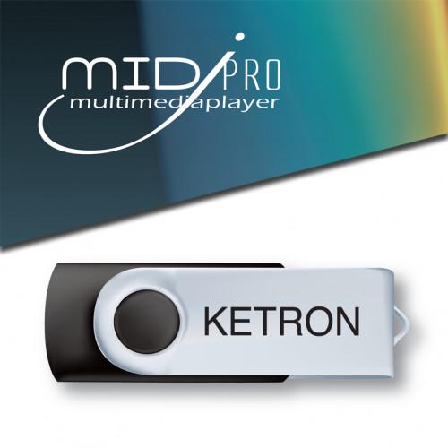 Ketron PEN DRIVE 2016 STYLE UPGRADE VOL.3 do MIDJ PRO