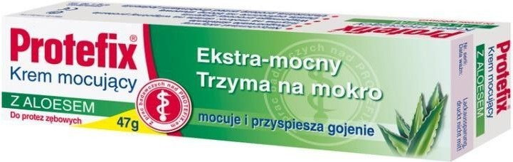 Queisser Pharma Protefix Krem mocujący z aloesem
