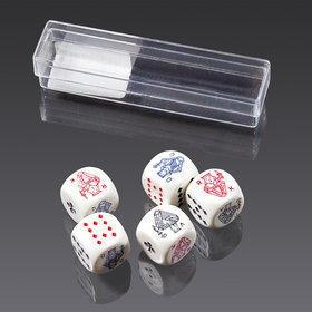 Piatnik Kości pokerowe (16 mm) 2970